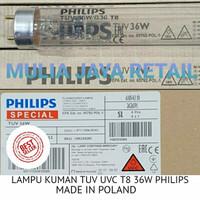 DIJAMIN HARGA MURAH!!!LAMPU KUMAN TL T8 UV TUV UVC 36W Philips