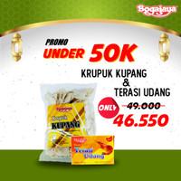 Paket Hemat Bundling Under 50K | Kerupuk - Snack - Terasi Udang