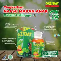 Madu Penambah Nafsu Makan Anak Original BPOM Isi 130ml - Gizidat
