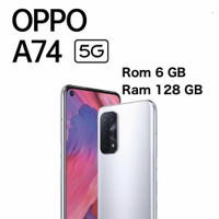 OPPO A74 5G 6/128 GARANSI RESMI