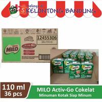 Milo Coklat 115ml Susu Cair UHT Kotak Activ Cokelat 115 ml Dus Karton