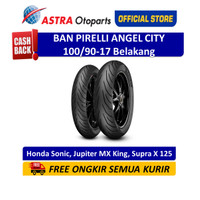 Pirelli Angel City 100/90-17M/CTL 55S AngCTR - Ban Belakang (2581000)