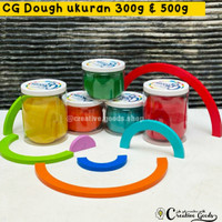 CG Dough in a JAR 300g (regular color) / homemade playdough 300 gram