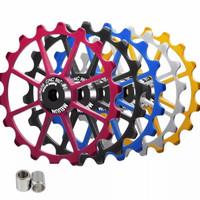 Meijun Pulley Rd 18T Bearing Ceramic Wheel Guide 18T