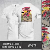 Kaos Tactical Pratama T-Shirt Extended Vacation White