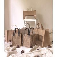 Tas Karung Goni Tote Bag Kanvas Wedding Souvenir Hampers - SAMPLE