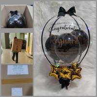 Buket Balon/ Balon Box / Balloon bouquet/ Balon foil bintang