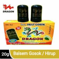 Dragon Balsem Menthol 20g 6's/box