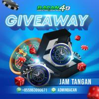 Giveaway jam tangan custom bacan4D dan sport