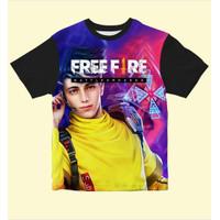 Baju Kaos Anak Laki-Laki Dan Perempuan Free fire Wolfrah