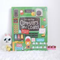 Buku Edukasi Anak Import - Usborne Lift the Flap Computers and Coding