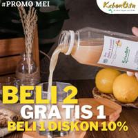 [NEW PROMO] Jus Jahe Lemon / Garlic, Tanpa Pengawet & Campuran (500ml)
