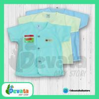 3 Buah Baju Bayi Pendek (Uscita) - Polos