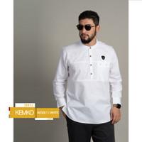 Samase Kemko Baju Kemeja koko Pakaian Muslim Pria Dewasa | A 058