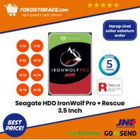 Seagate IronWolf Pro HDD / Hardisk NAS SATA 7200RPM