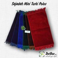 Sajadah Mini Polos Tebal / Sajadah Travel / Sajadah Anak Sajadah Muka
