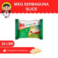 MEG Keju Serbaguna Slice 20 slices