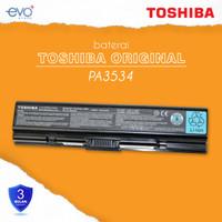 ORIGINAL BATERAI LAPTOP TOSHIBA PA3534 A200 A202 A203 A205 L300