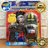 Mainan Remote Kontrol Mobil Polisi HKR - Polisi Super Car 21027