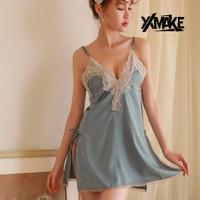 XXMAKE XXN116 Seksi lingerie Baju Tidur sexy /lingrie Wanita - Light Blue