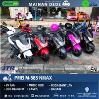 KHUSUS GOJEK Mainan Motor Aki NMAX RAID PMB 588 M-588 M588
