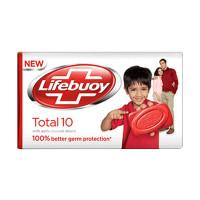 Lifebuoy Sabun Batang Total 10 Care [85 gr] MERAH