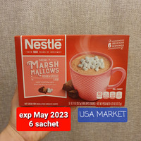 nestle hot cocoa mix marshmallow coklat bubuk instan 6 sachet