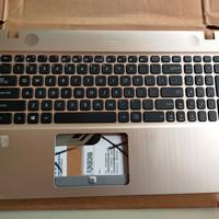 keyboard asus x541 series plus frame original