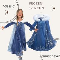 Frozen Disney Elsa Anna PRINCESS Parish Kids Dress KOSTUM