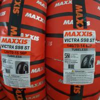 Ban Maxxis 120/70-15 & 140/70-14 XMAX Depan Belakang Victra 1 set