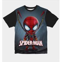 Baju Kaos Anak Laki-Laki Dan Perempuan Spiderman Kid - S