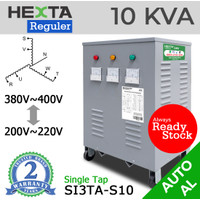 Trafo Listrik Step Up Down Hexta 10 KVA - REGULER