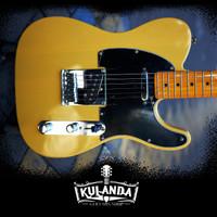 Gitar elektrik custom Fender Telecaster replica Blonde