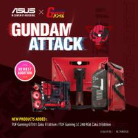 ASUS X GUNDAM ZAKU II EDITION BUNDLING SET
