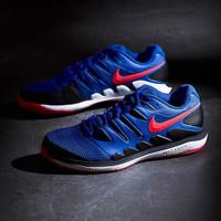 Sepatu Tennis Nike Air VPR Zoom X HC Race Blue Original