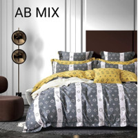Bedcover Set Katun Jepang ORI Import Motif Adela Size Double - 140x200