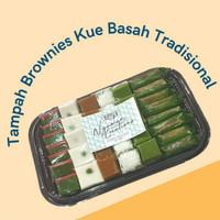 Kue Basah Tradisional Hampers Tampah Brownies Jakarta - 30pcs