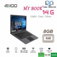 Laptop Axioo Mybook 14G Intel N4020 Ram 8GB DDR4 SSD 256GB 14 FHD W10