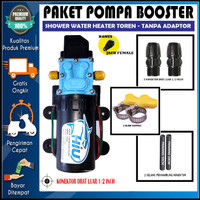 PAKET POMPA BOOSTER SHOWER TOREN WATER HEATER - HIU 5LPM 100PSI REAL P