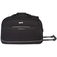 Polo Hunter Tas Kabin-Duffle Bag with Trolley- Travel EIC Size 23 inch - Hitam