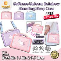 iPad Air 1 2 9.7 inch Softcase Unicorn Karakter Motif Anak Kid Case