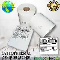 Label Barcode Xprinter XP-360B Uk 78x95 Thermal 78 x 95 isi 250pc - 78x95 isi 250pc