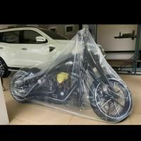 Sarung Motor Transparan Moge - Harley
