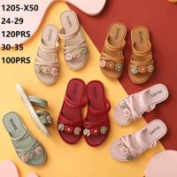 Sandal selop Anak Perempuan Jelly Sendal Kokop Bunga BALANCE 1205-X50