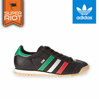 Sepatu Adidas Rom Black Strip Italy