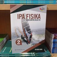 Buku IPA Fisika SMP Kelas 8 Kurikulum 2013 Erlangga