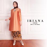 Baju Kurung Melayu Malaysia Modern Wanita Iriana (Atasan saja)