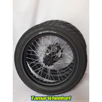 Ready Stock WheelSet Velg Set Ban Set Roda Set Supermoto Honda CRF 150