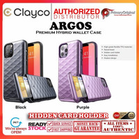 Case Samsung A52 A72 CLAYCO MYOS WITH SCREEN PROTECTOR