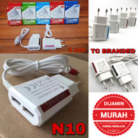 Charher Hp Android Branded N10 2 Usb Port